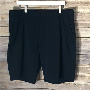 Under Armour Golf Casual Flat Front Shorts (P1)